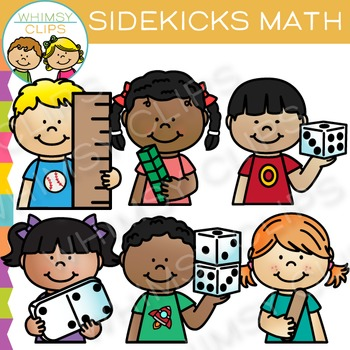Sidekicks Math Clip Art