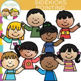 Sidekicks Pointing Clip Art