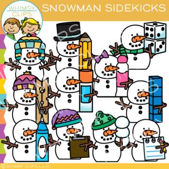 Sidekicks Snowman Clip Art