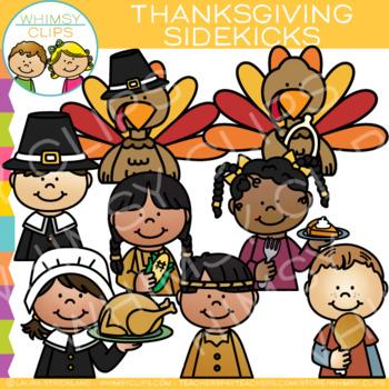 Sidekicks Thanksgiving Clip Art