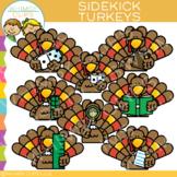 Sidekicks Turkey Clip Art