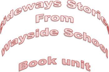 Sideways Stories From Wayside School Book Unit
