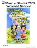 Sideways Stories From Wayside School Novel Packet