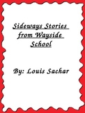 Sideways Stories From Wayside School Unit