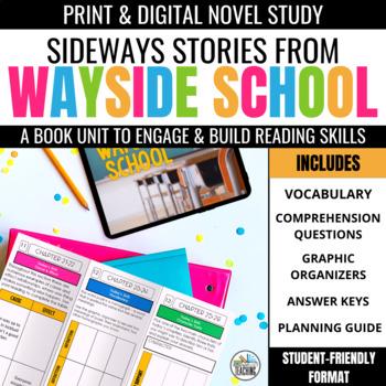 Sideways Stories from Wayside School Foldable Novel Study