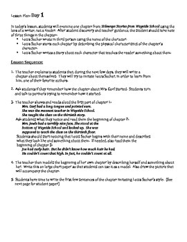 Sideways Stories from Wayside School 5 day Writing Project