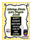 Sideways Stories from Wayside School: Bloom's Taxonomy Questions!