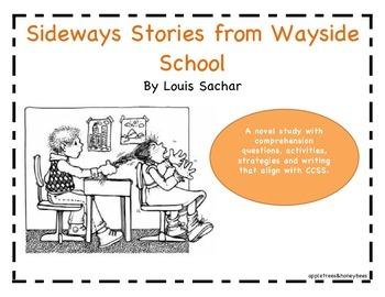 Sideways Stories from Wayside School Book Study