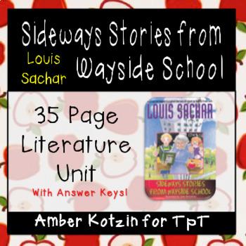 Sideways Stories from Wayside School Literature Guide (Com