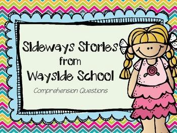 Sideways Stories from Wayside School Literature Unit