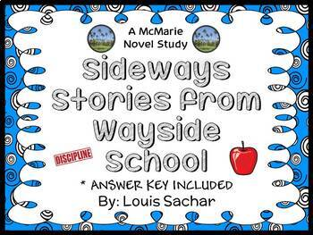Sideways Stories from Wayside School (Louis Sachar) Novel Study  (30 pages)