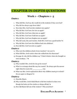 Sideways Stories from Wayside School Novel Guide