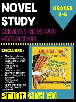 Sideways Stories from Wayside School Novel Study