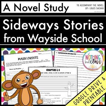Sideways Stories from Wayside School Novel Study Unit