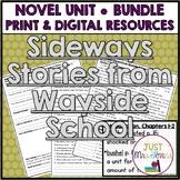Sideways Stories from Wayside School Novel Unit