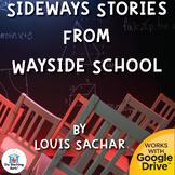 Sideways Stories from Wayside School Novel Study Book Unit Distance Learning