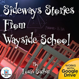 Sideways Stories from Wayside School Novel Study Book Unit