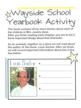 Sideways Stories from Wayside School Packet