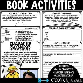 Sideways Stories from Wayside School (Questions & Character Craft)