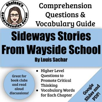 Sideways Stories from Wayside School Questions and Vocabulary Guide