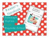Sideways Stories from Wayside School Reader's Notebook