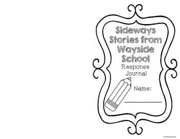 Sideways Stories from Wayside School Response Journal