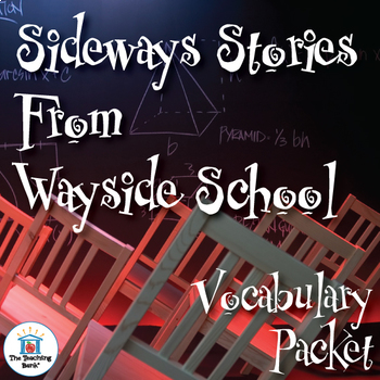 Sideways Stories from Wayside School Vocabulary Packet