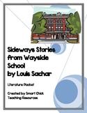"""Sideways Stories from Wayside School"", by L. Sachar, Lit Unit-54 pgs!"