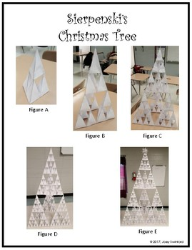 Sierpinski's Christmas Tree with Critical Thinking Questions