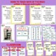 Siete Días - Printed song, worksheets, posters, color & cut flash cards
