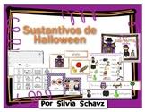 Nueve actividades diferentes para practicar sustantivos de Halloween