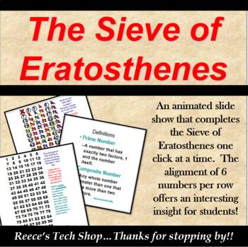 Sieve of Eratosthones