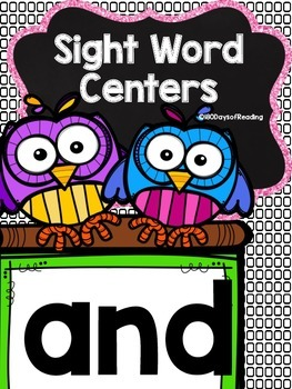 Sight Word {and} Activities