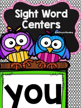 Sight Word {you} Activities
