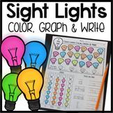 Sight Word Graphing BUNDLE! (Pre-Primer, Primer, First Grade Words)