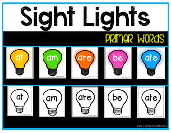 Sight Lights - Primer Words