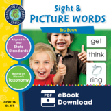 Sight & Picture Words BIG BOOK Gr. PK-2