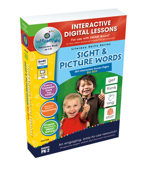 Sight & Picture Words BIG BOX - NOTEBOOK Gr. PK-2