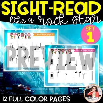 Sight-Read Like A Rock Star! {2 Black Keys; Hands Alone}