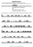 Sight Reading 7 - MUSIC RHYTHM SHEETS - Sixteenth Notes in