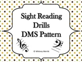 Sight Reading Drill Cards - Do Mi So Skips