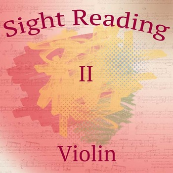 Sight Reading Exercises II for Violin