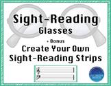 Sight Reading Glasses & Strips