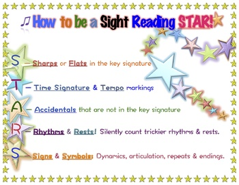 How to Become a Sight Reading STAR! - Band, Orchestra, Chorus, Music