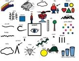 Sight Sense- 5 Senses, What does it look like? Visual word bank