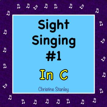 Chorus Sight Singing #1 in C