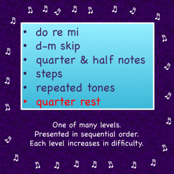Chorus Sight Singing #2 in F - Add the Quarter Rest