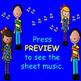 Chorus Sight Singing #3 in F - ♪ ♪ ♪ ♪ ♪ Add eighth notes.
