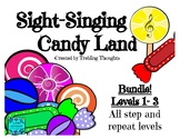 Sight-Singing Candy Land Bundle - Levels 1-3