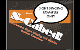 Back to School Sight Singing Examples ONLY  S-Cubed Sight